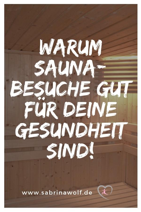 Sauna gut für die Gesundheit