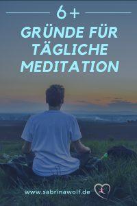 Warum meditieren?