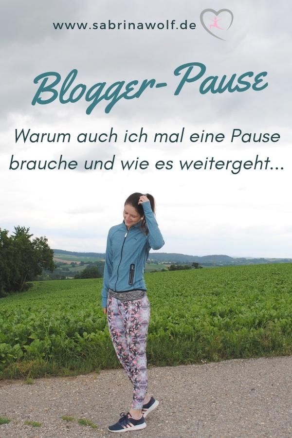 Auch Blogger brauchen Pausen