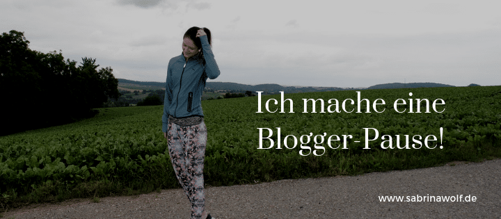 Blogger-Pause