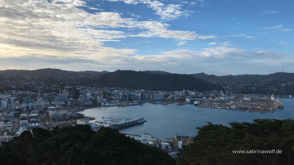 Wellington Tipps - Mt Victoria Lookout