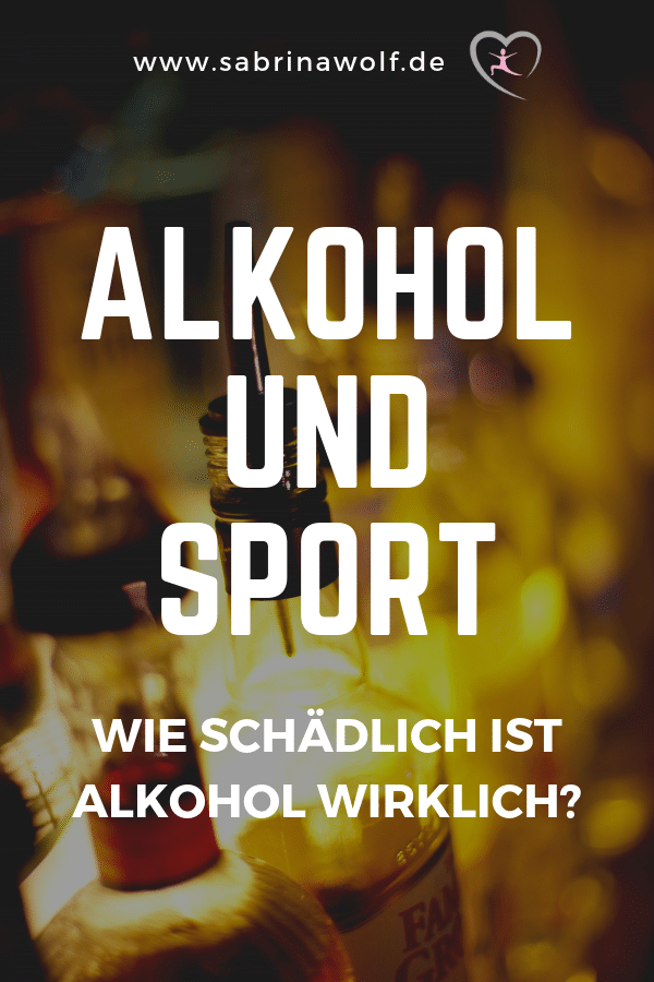 Alkohol Sport - wie schädlich ist Alkohol wirklich?