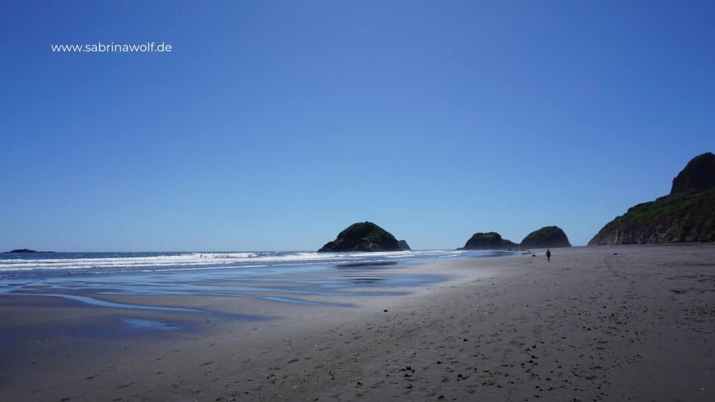 Black Beaches in New Plymouth - Nordinsel Neuseeland