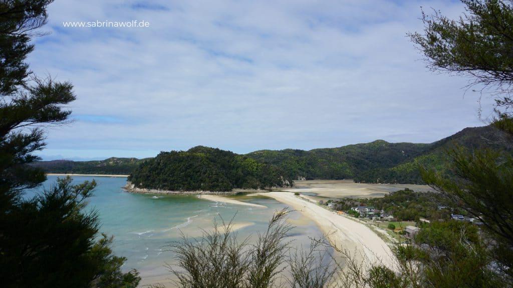 Abel Tasman - Torrent Bay - meine Reise auf die Südinsel Neuseelands