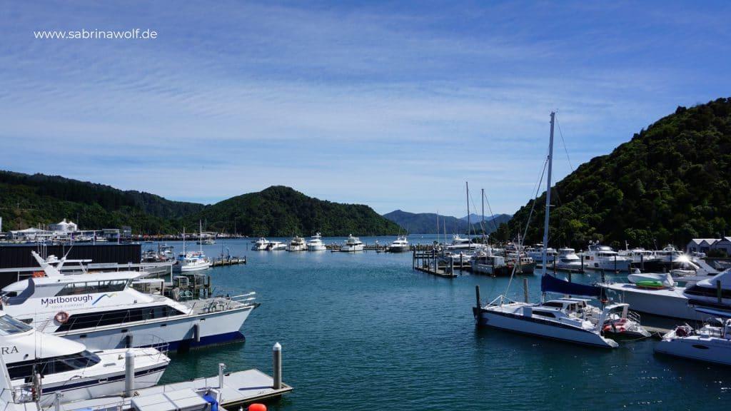 Picton Neuseeland - meine Reise auf die Südinsel