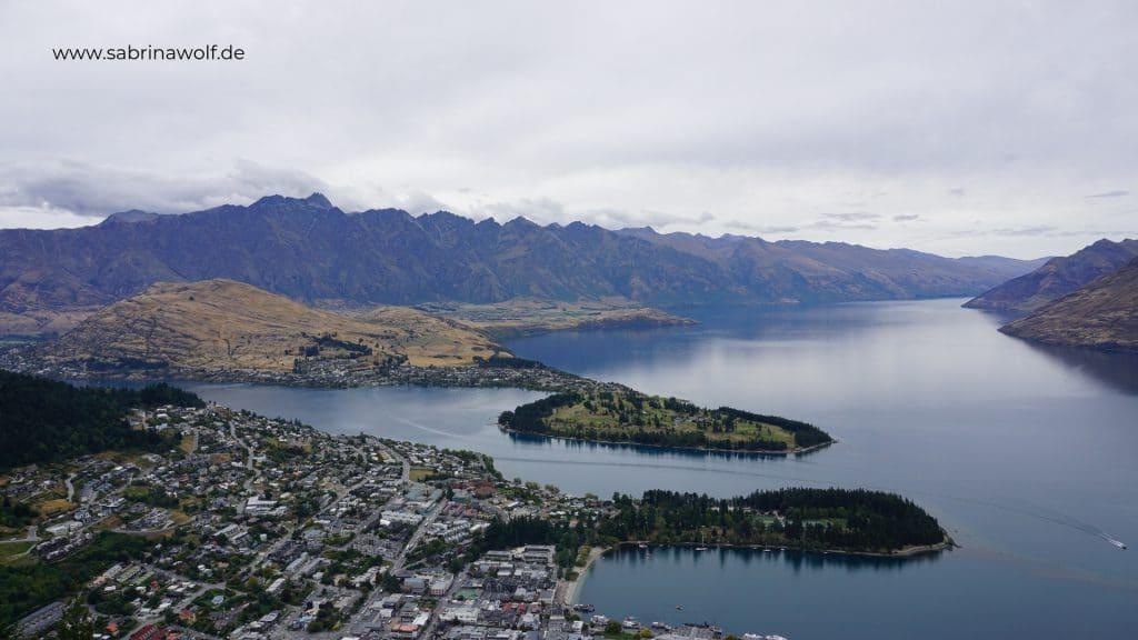 Queenstown - Gondola - meine Reise auf die Südinsel Neuseelands