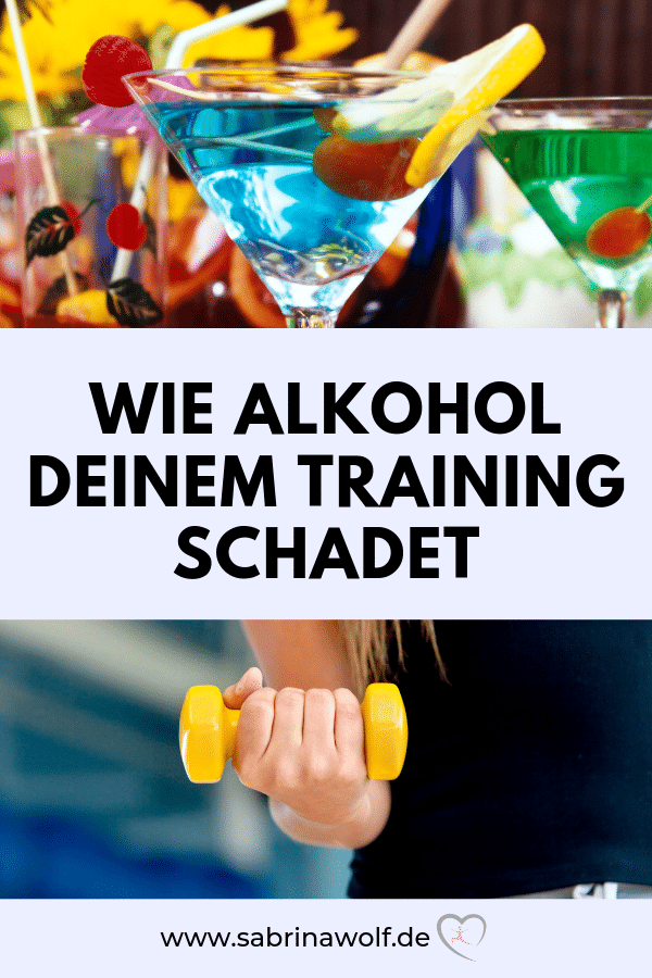 Alkohol und Fitness - so sehr schadet Alkohol deinem Training!