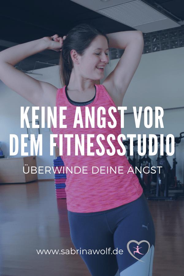 Überwinde die Angst vor dem Fitnessstudio und verfolge Deine Ziele