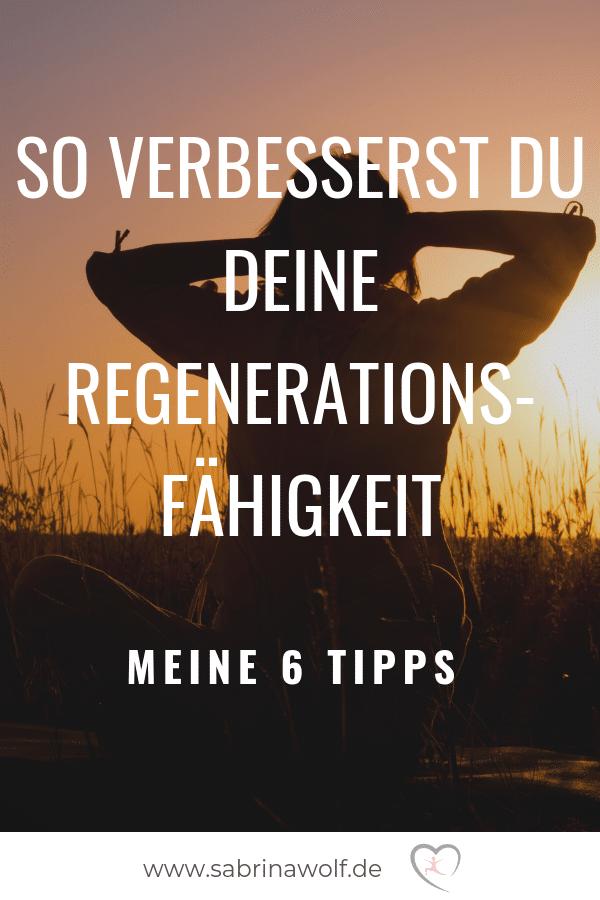 Mit diesen 6 Tipps verbesserst Du Deine Regenerationsfähigkeit