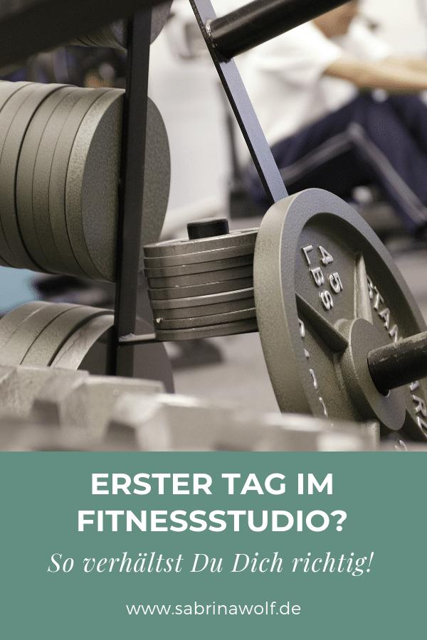 So verhältst Du Dich im Fitnessstudio