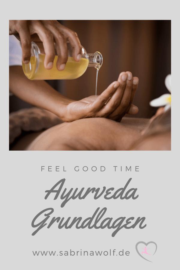 Grundlagen lernen Ayurveda