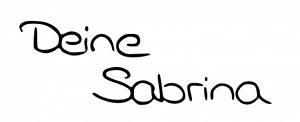 Sabrina Unterschrift