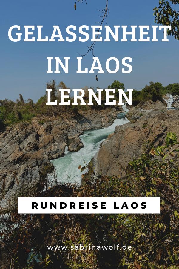 Gelassenheit in Laos lernen