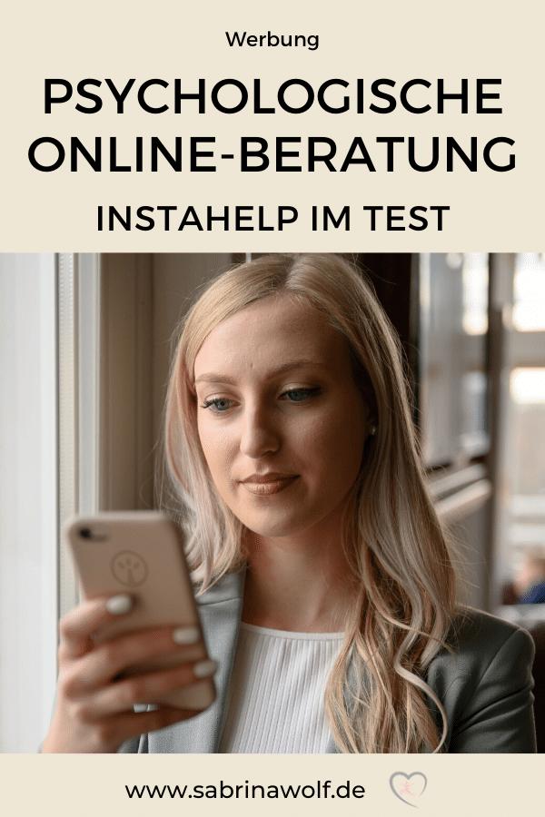 Psychologische Online-Beratung - Instahelp im Test