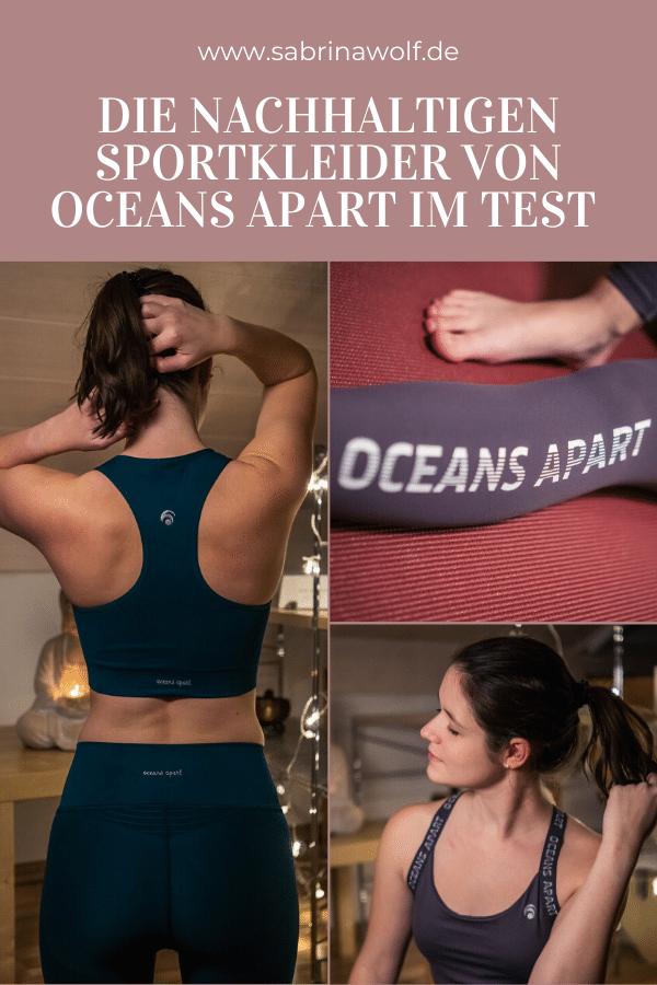 Nachhaltige Sportkleidung von Oceans Apart im Test